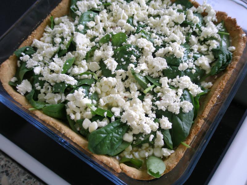 frisk spinat tærte