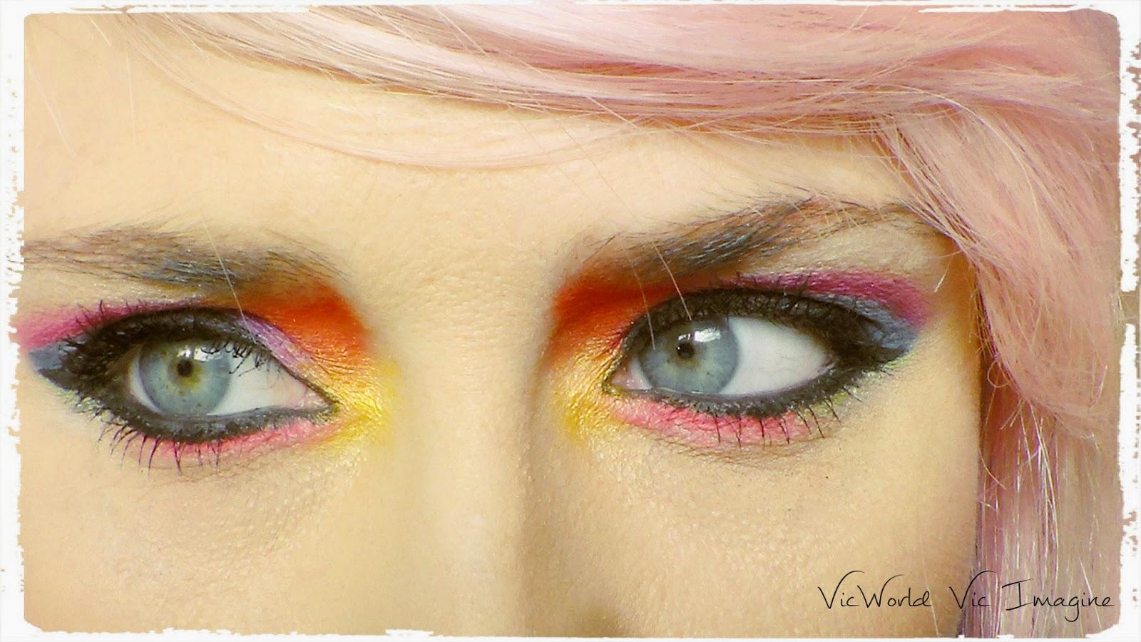 Rojo,rosa,morado,azul,amarillo,negro,blanco,fantasia,
