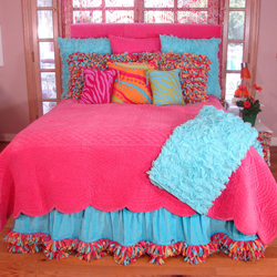 Fashion Portal: Colorful Bed Sheets For Girls