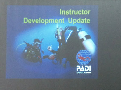 PADI Instructor Development Update, Sanur, Bali, Indonesia slide