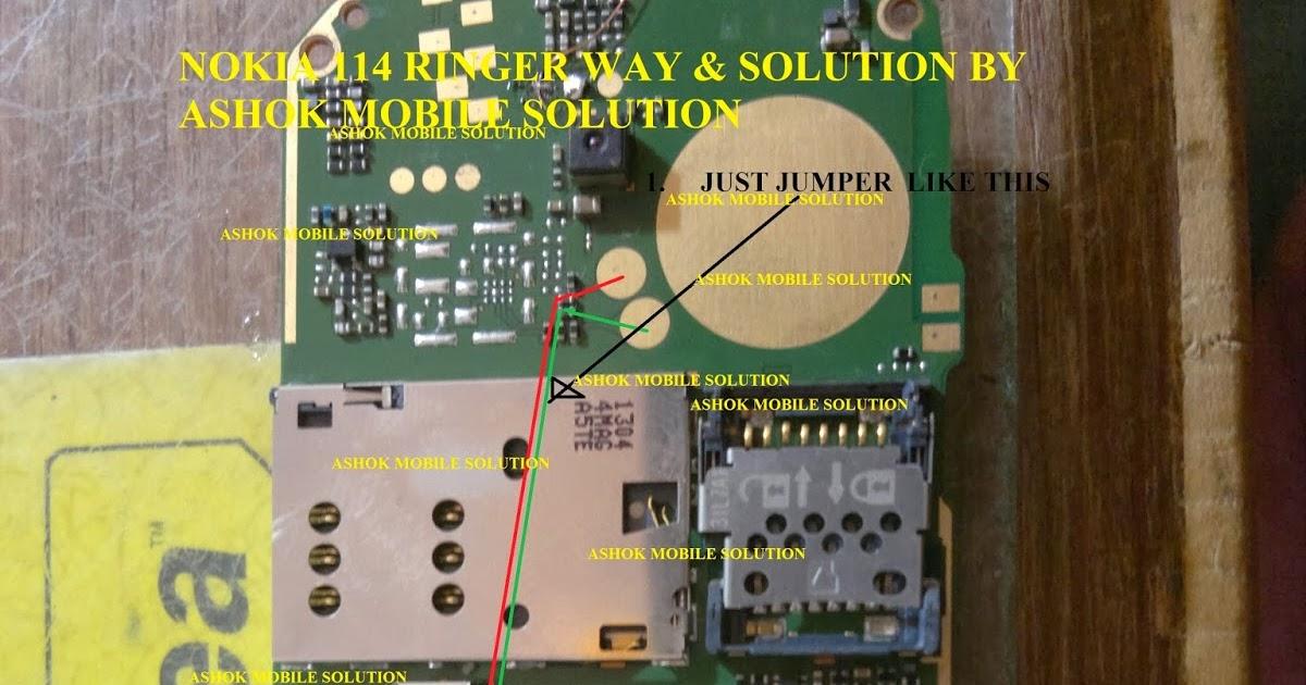 Ashok Mobile Solutions  nokia114 ringer solution
