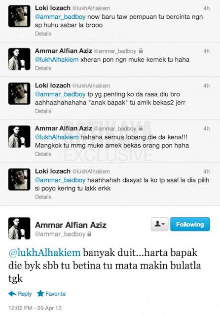 Kenyataan Ammar Alfian Yang PANAS di Twitter dan Facebook