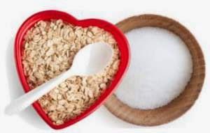 oatmeal, sugar