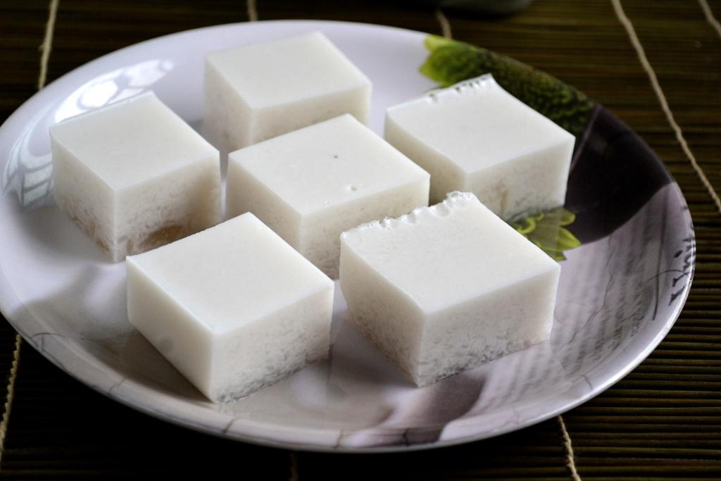 Vegan coconut jelly burmese kyauk kyaw gayathris cook spot forumfinder Image collections