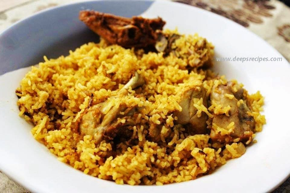 Chicken biriyani no ghee