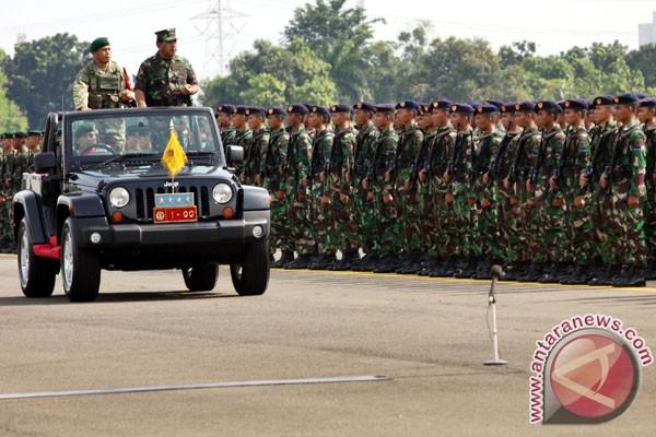 Latihan gabungan TNI Tahun 2013 resmi dibuka Panglima TNI