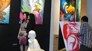 Galery lukisan model kontemporer