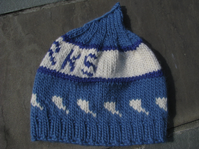 Knitnscribble Team Hats For Favorite Sports Knitting And Selling