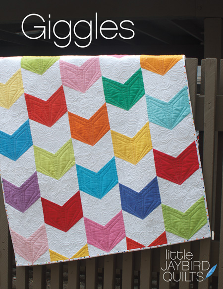 Giggles Pattern Cover Web Great Rulers and a Scrappy Quilt Start