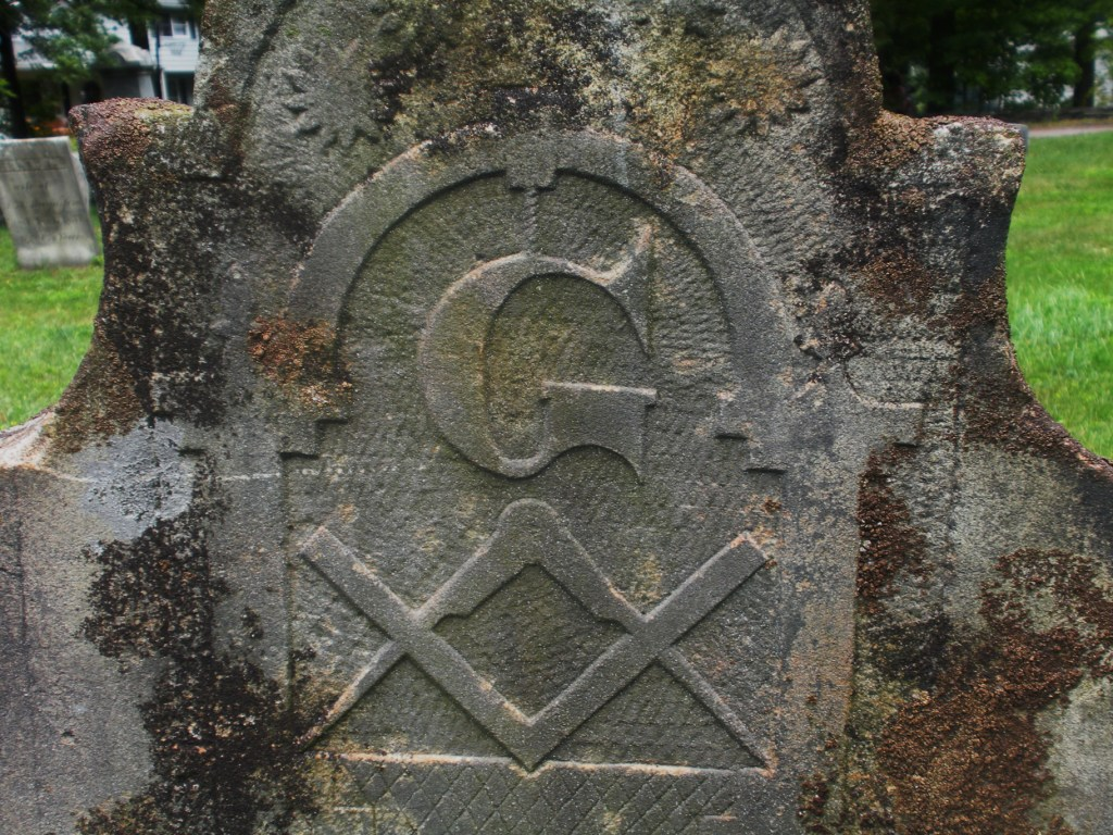Engraved masons masons everywhere ah another hand carved sand stone marker from the early 1800s note how the g hangs from the keystone an important building innovation used by the romans biocorpaavc