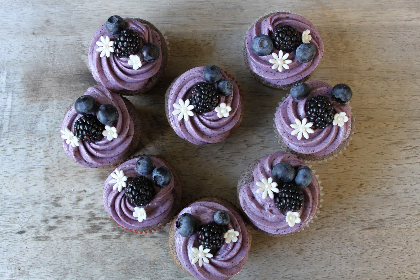 Blueberry Muffins With Icing Ugly Blueberry Muffins