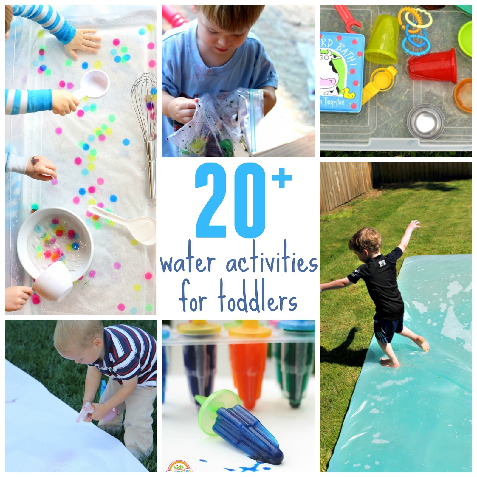 Toddler Approved 20 Outdoor Water Activities for Toddlers