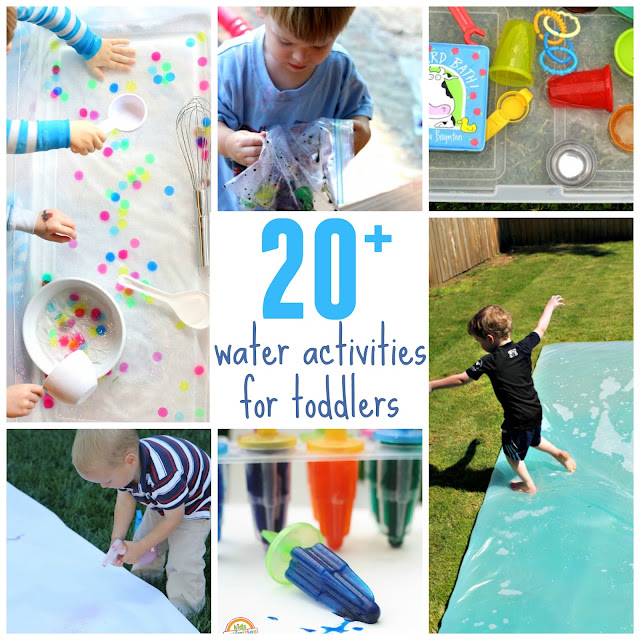 Toddler approved 20 outdoor water activities for toddlers for Garden activities for toddlers
