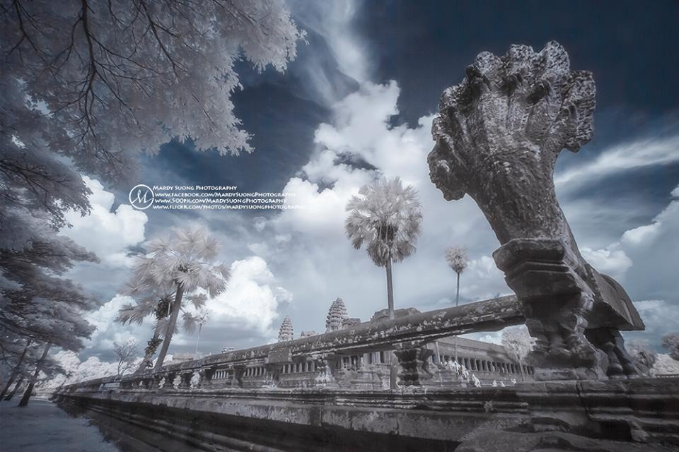 Bodyguard-of-Angkor-Wat-templein-Infrared