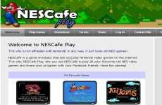 Nes Cafe Play: juegos de Nintendo online