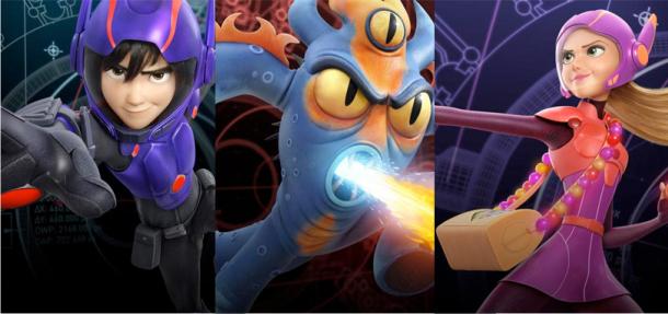 Operação Big Hero 6 | Imagens de personagens e comercial inédito da animação da Disney & Marvel