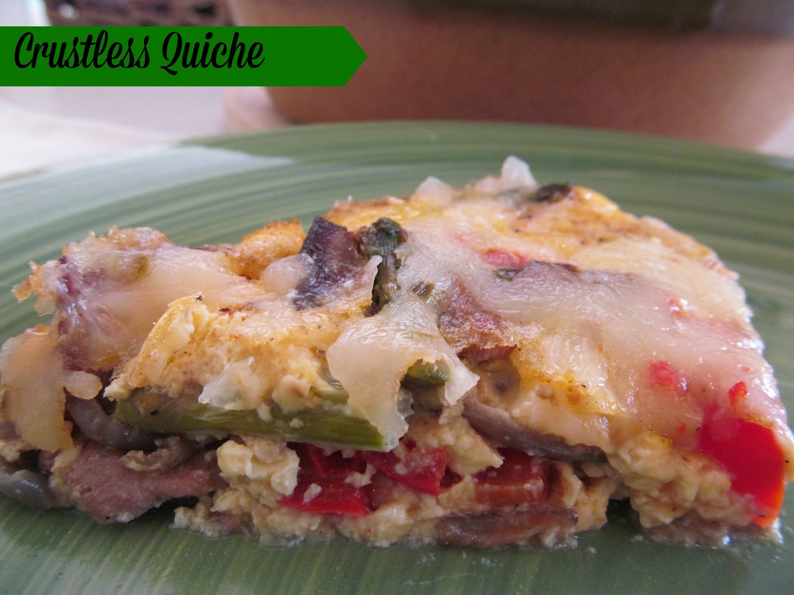 how to make crustless quiche on the stove