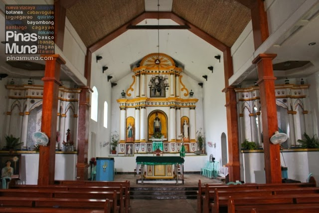 Mahatao Church Altar