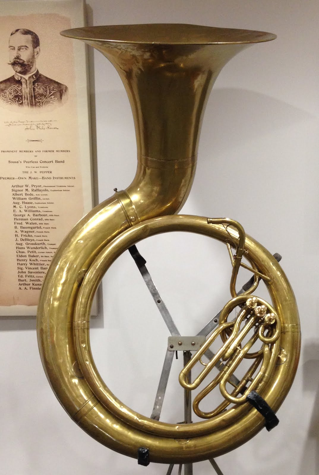 The very first Sousaphone