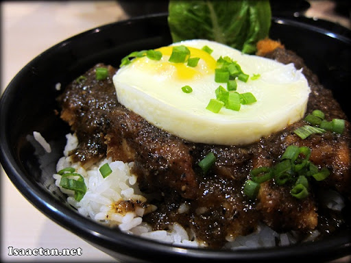 Black Pepper Chicken on Rice