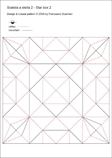 Origami, CP: Scatola a stella 2 by Francesco Guarnieri
