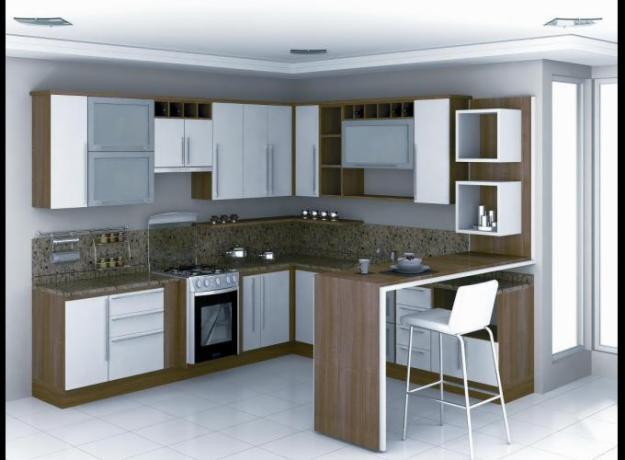 Arquitetando com Arte Móveis Planejados, Projetados ou Soltos??? eis a Questão # Cozinha Planejada Loja Cem
