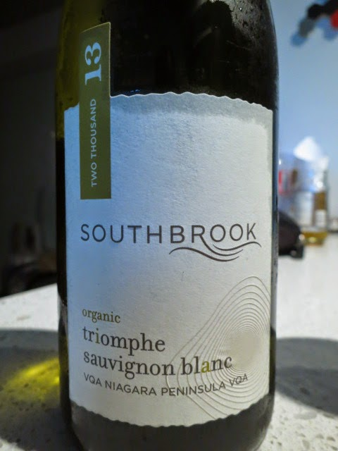 Wine Review of 2013 Southbrook Triomphe Sauvignon Blanc from VQA Niagara Peninsula, Ontario, Canada