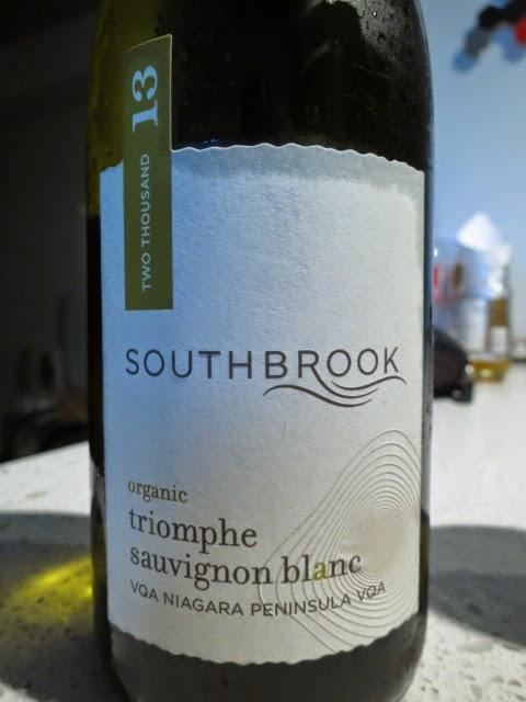 Wine Review of 2013 Southbrook Triomphe Sauvignon Blanc from VQA Niagara Peninsula, Ontario, Canada