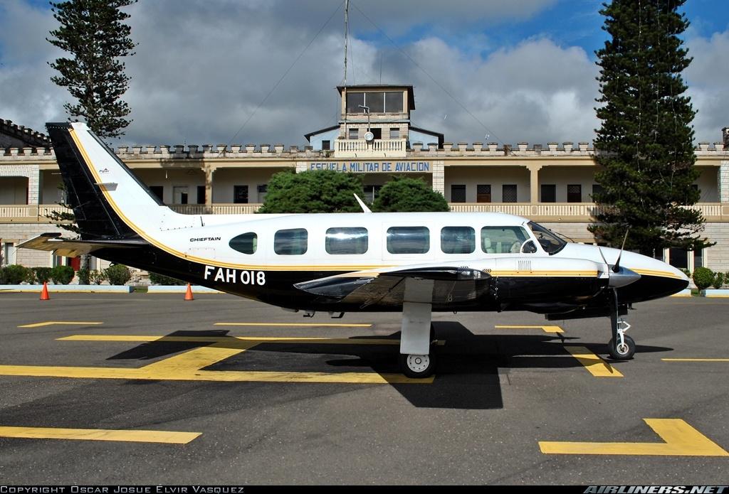 Fuerzas Armadas de Honduras Piper+PA-31-350+Navajo+Chieftain_2