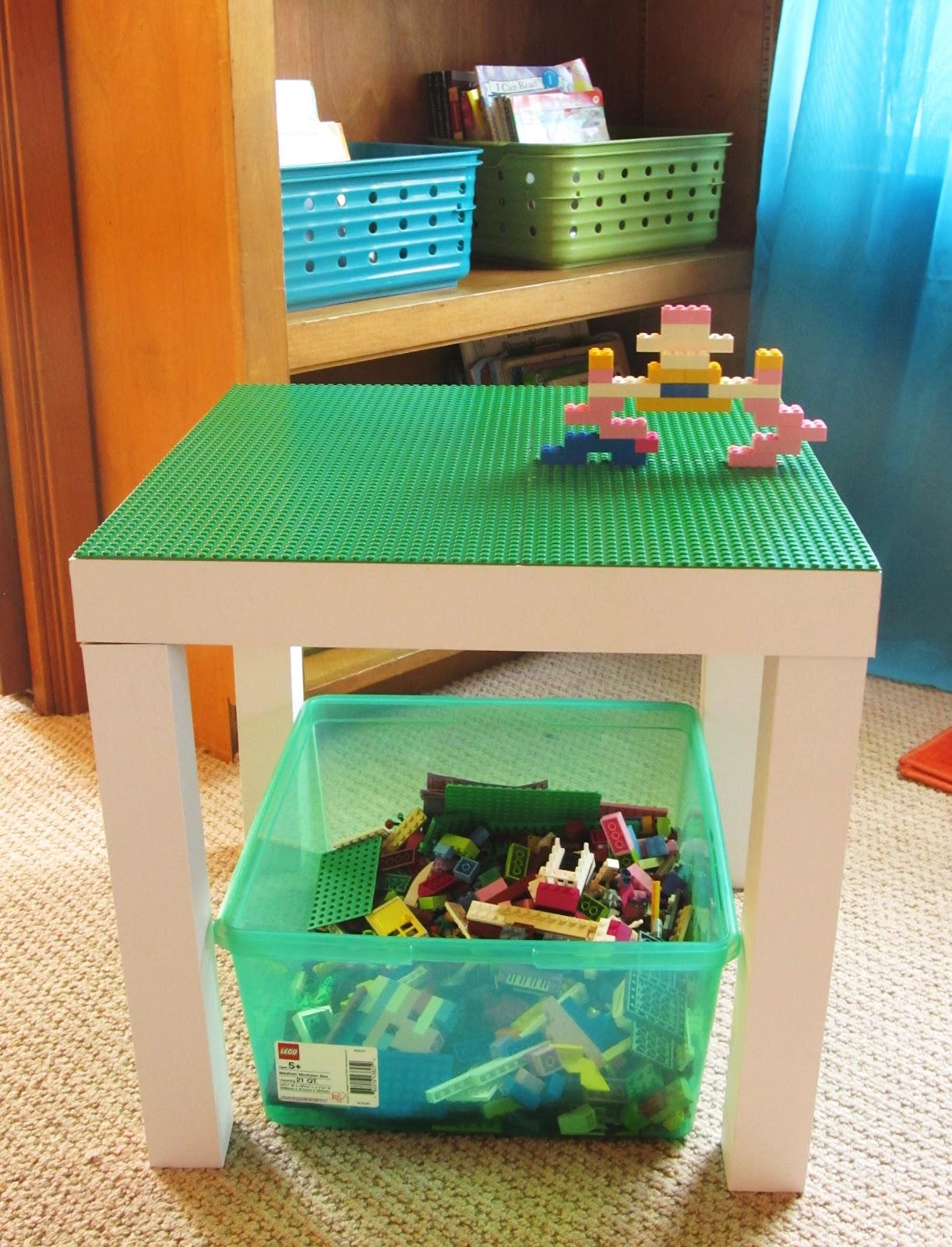 jessica 39 s jabber home school classroom sneek peak lego table. Black Bedroom Furniture Sets. Home Design Ideas