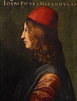 Portrait of Giovanni Pico della Mirandola