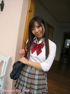 Mizuho Shiraishi Japanese Sexy Model Sexy Janpan Student Uniform From BEJEAN ON LINE 10