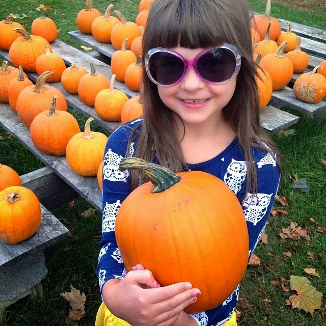 Pumpkin Patch Girl - New England Fall Events