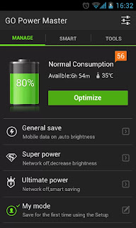 GO Battery Saver apk power meter