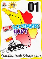 SUK Scavengers Hunt 1 Jun 2013