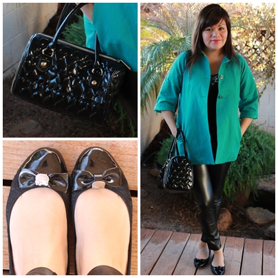 Marieesbella Green With Envy Olivia Palermo Inspired