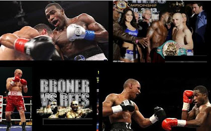 full fight replay of broner vs rees