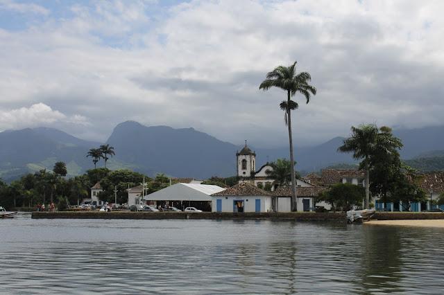 Paraty, Centro histórico, Rio, Igreja Santa Rita Paraty