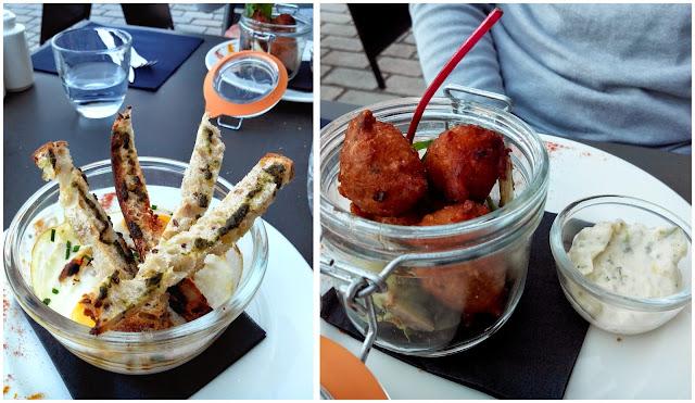 schmilblick, accras, restaurant, Papy Mougeot, Nantes, bullelodie
