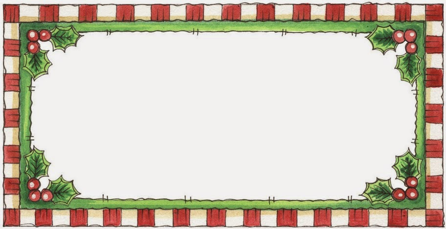 Holly Free Printable Borders and Frames for Christmas. | Is it for ...