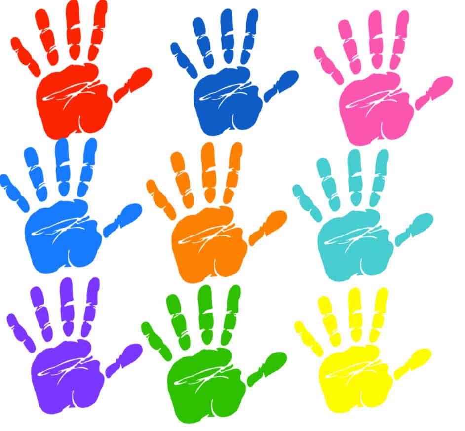 Helping Hands Kindergarten Craft