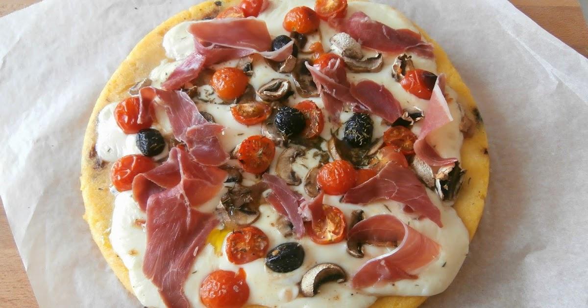 My Culinary Curriculum: Galette de polenta façon pizza ...