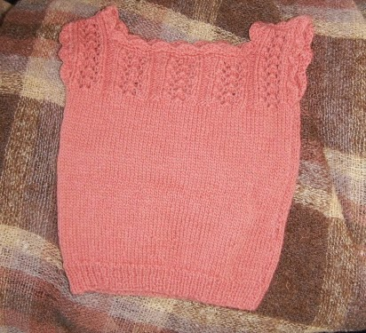 Knitting Pattern Baby Singlet : Mumseys Ramblings: Plunket Singlet