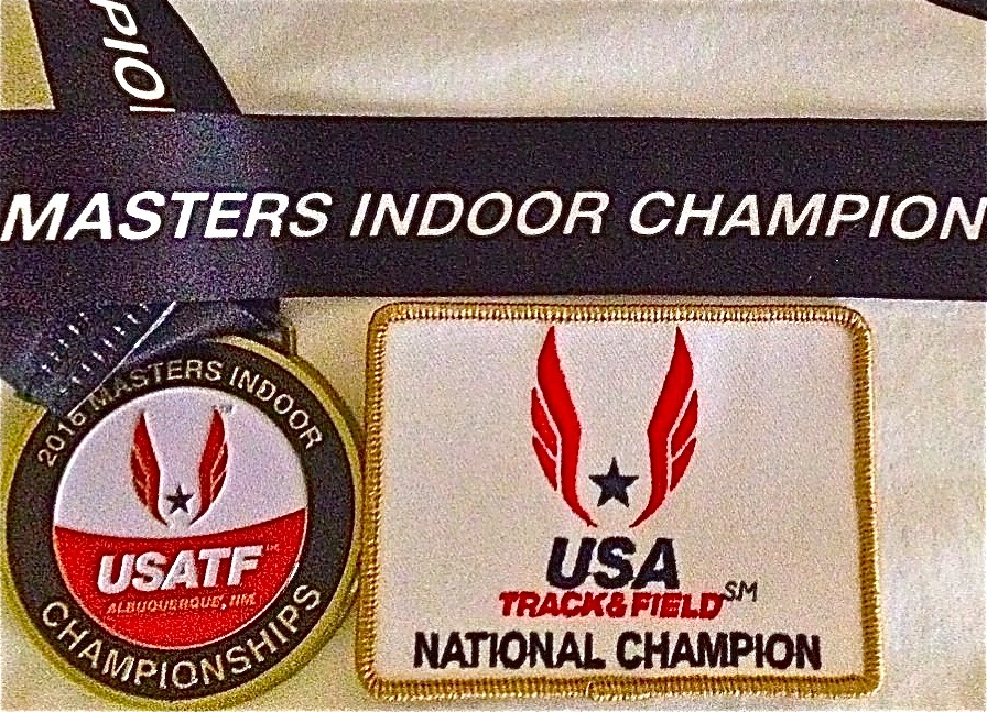 2016 National Champion USATF M55 indoor 400m