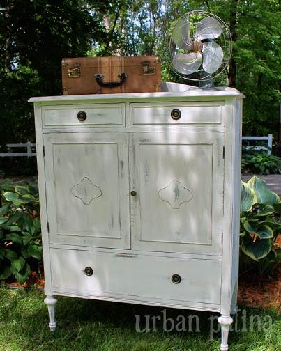 When I Rescued This Armoire It Had A Lot Of Veneer Damage, On Both The  Outside And On The Faces Of The Inside Drawers. I Knew I Could Repair The  Exterior ...
