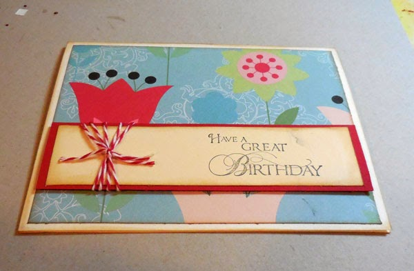 Scraperfect Quick And Easy Birthday Card