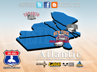 atlantic division, nba map, new york, new jersey, boston