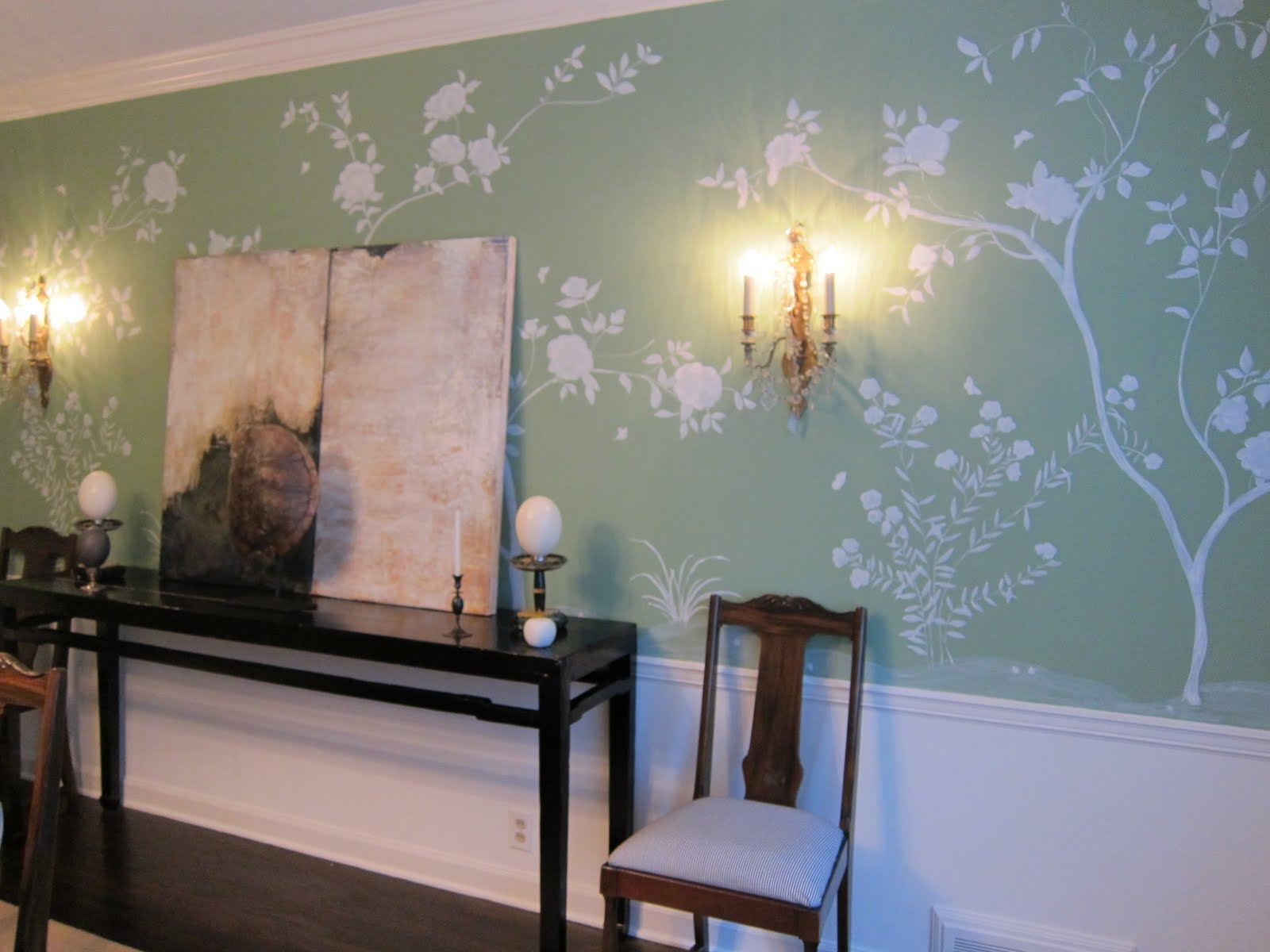Mrs blandings pleased as punch for Chinoiserie wall mural