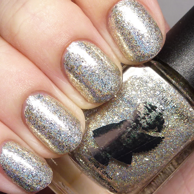 Grace-full Nail Polish Silver and Gold