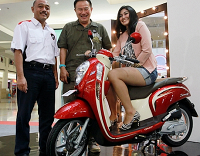 Honda Scoopy dan Model Bohai